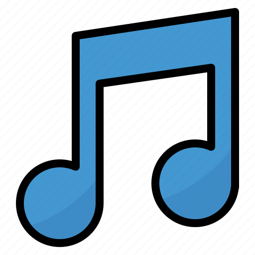 Music, musical, note, quaver, song icon - Download on Iconfinder