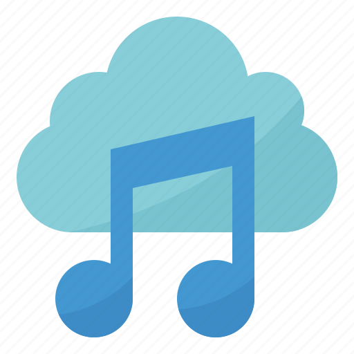 Cloud, music, play, song icon - Download on Iconfinder