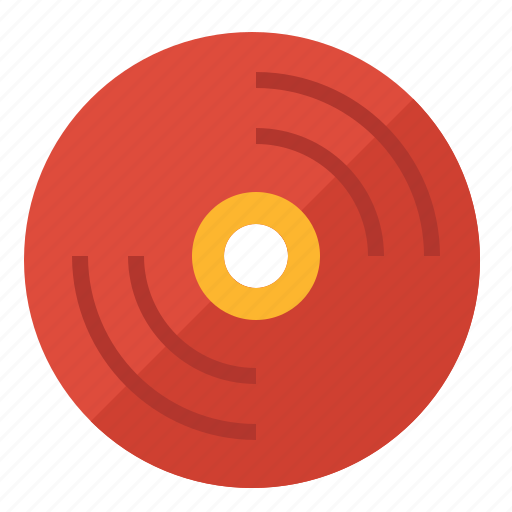 Disc, music, note, song, vinyl icon - Download on Iconfinder