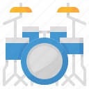 drum, instruments, music, musical icon