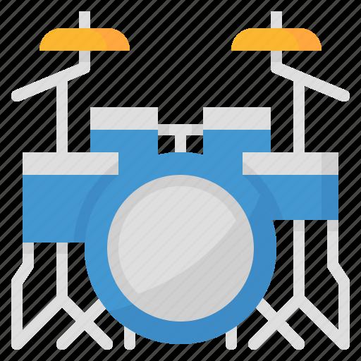 drum, instruments, music, musical icon