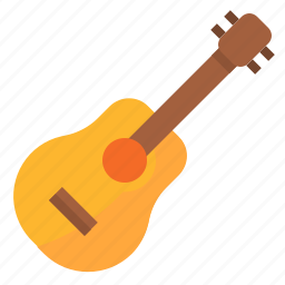guitar, instruments, music icon