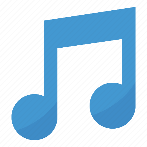 music, musical, note, quaver, song icon