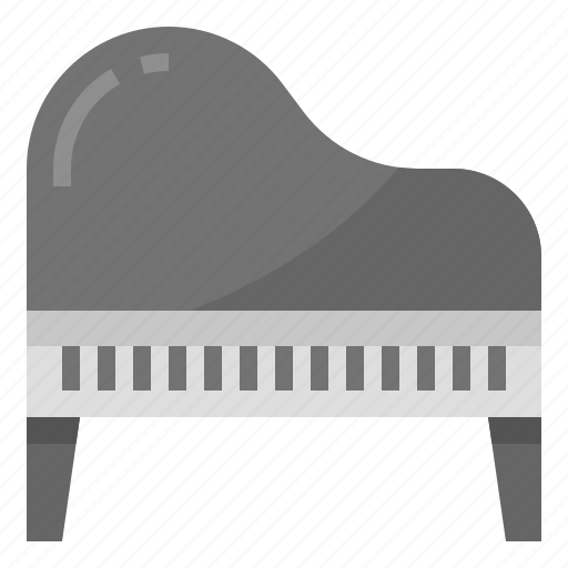 instruments, music, orchestra, piano icon