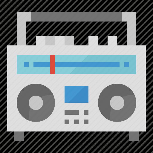 news, radio, retro, transistor icon