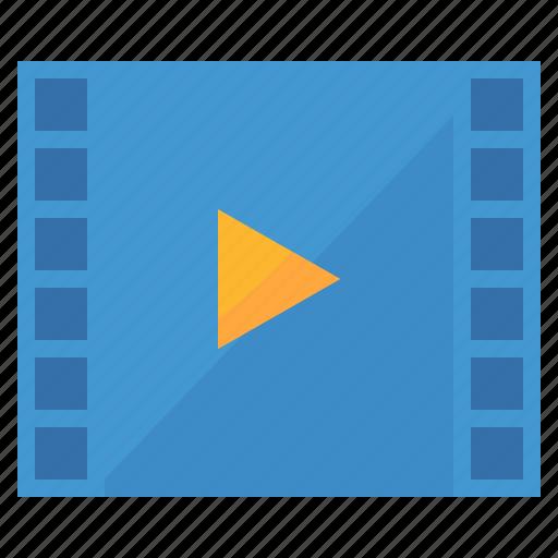 entertainment, movie, player, video icon