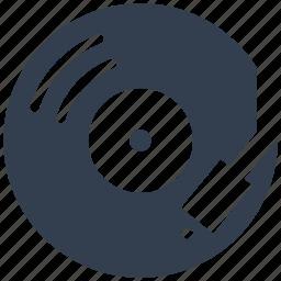 disco, dj, equipment, gramohone, mixing, multimedia, music, record icon