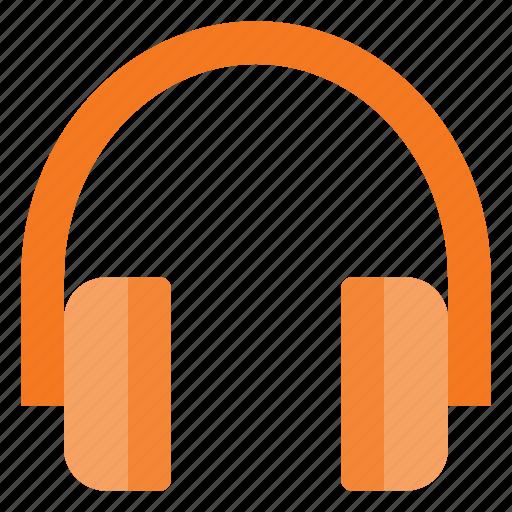 ear, headphone, headset, music icon