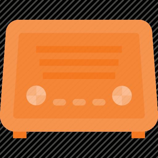 music, old, radio, retro, sound, vintage icon