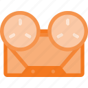casette, old, player, retro, tape icon