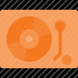 disk, dj, mix, music, player, retro, vinyl icon