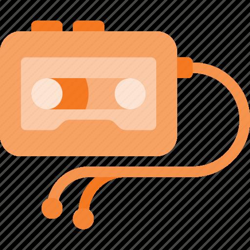 casette, listen, music, player, sound, walkman icon
