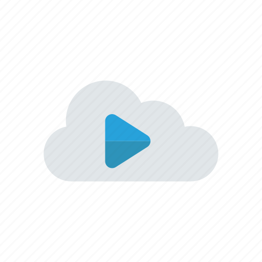 cloud, music, play, song icon