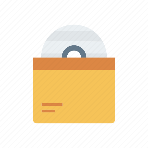 bag, cd, disc, dvd icon