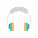 accessories, audio, earphone, headphone icon
