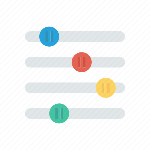 adjustment, control, music, song icon