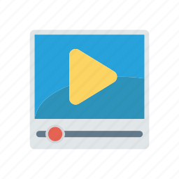 music, player, song, video icon