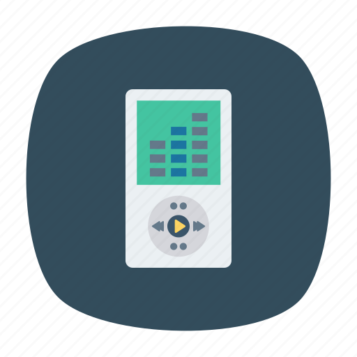 mp3, music, player, song icon