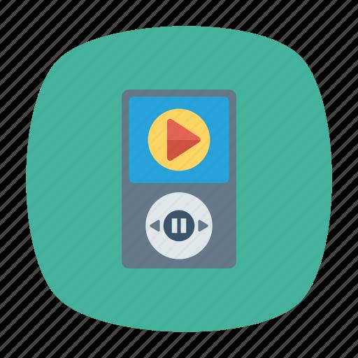 audio, mp3, music, player icon