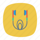 audio, earphone, headphone, music icon