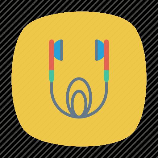 audio, earphone, headphone, music icon