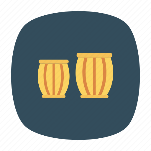 instrument, melody, music, song icon