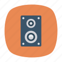 loud, music, sound, speaker icon