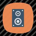 loud, music, sound, speaker