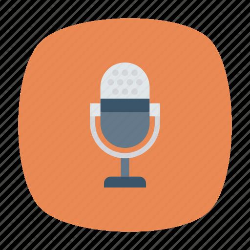 audio, mic, speaker, voice icon