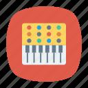 instrument, music, piano, tiles