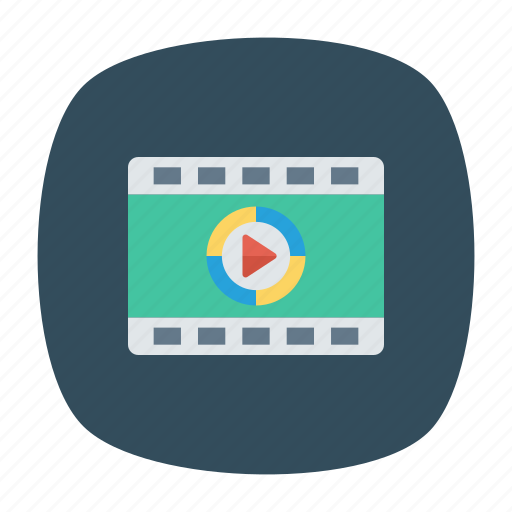 music, playlist, song, video icon
