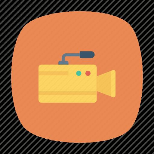 camera, media, recording, video icon