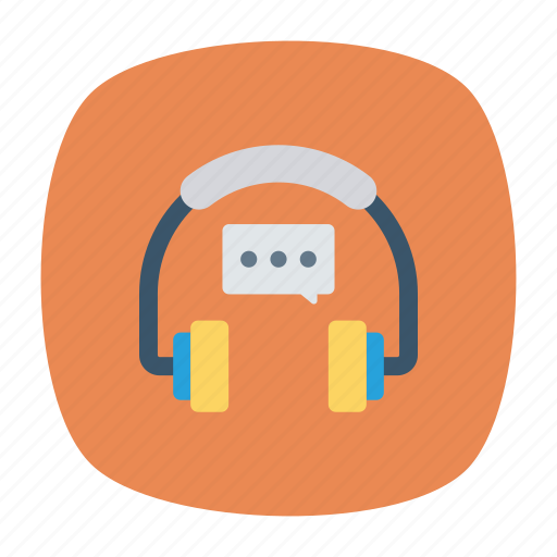 accessories, headset, music, support icon