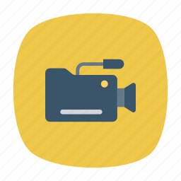 camera, recording, video, voice icon