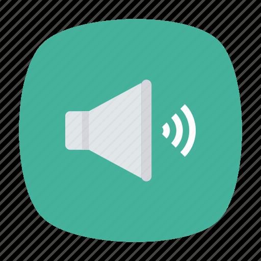 loud, speaker, up, volume icon
