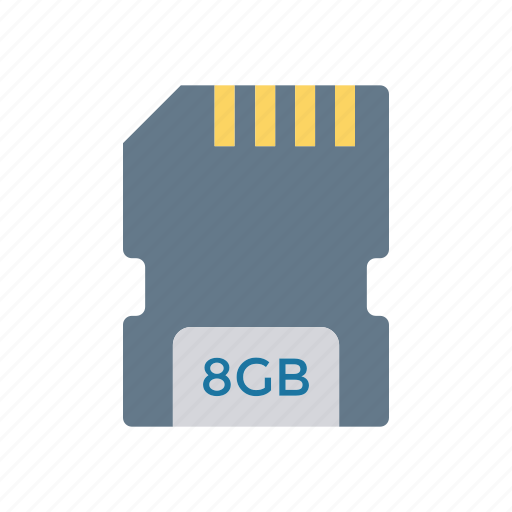 card, chip, sd, storage icon