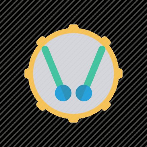 drum, instrument, music, wind icon