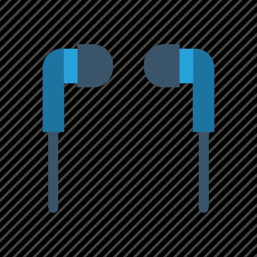 accessories, audio, earphone, music icon