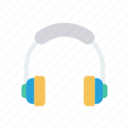 audio, headphone, listen, music icon