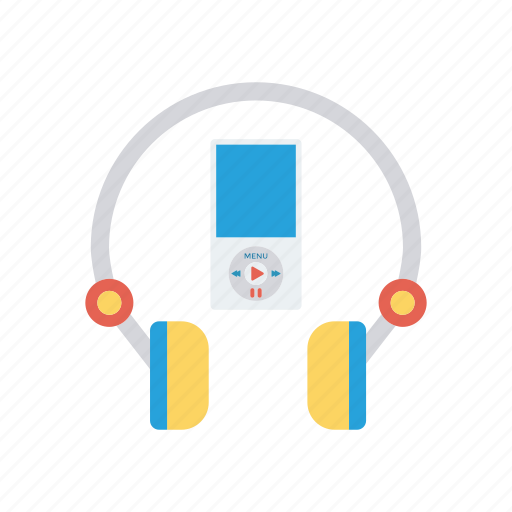 audio, headphone, headset, song icon