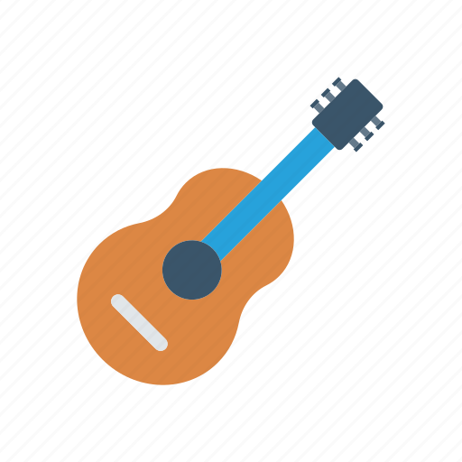 guitar, instrument, melody, music icon