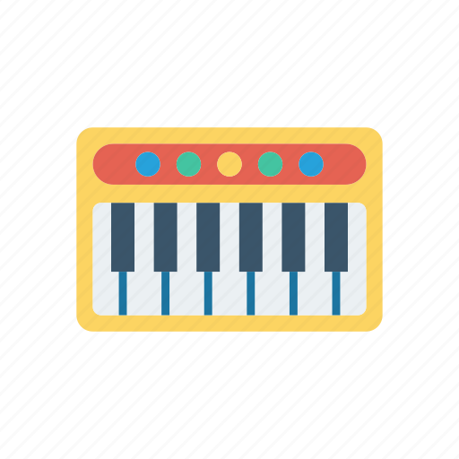isntrument, music, piano, tiles icon