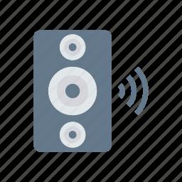 loud, music, sound, speaker icon