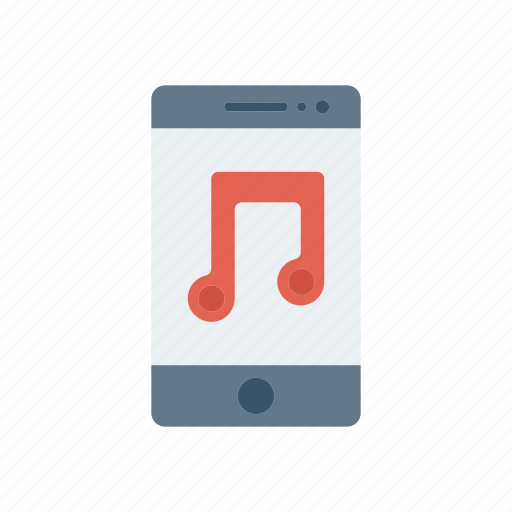 device, melody, mobile, music icon