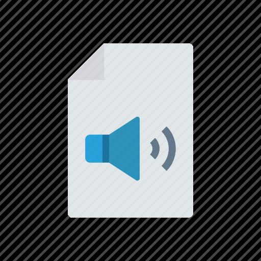 doc, file, music, record icon