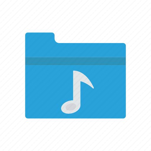 archive, folder, music, song icon