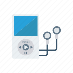 earphone, mp3, music, song icon