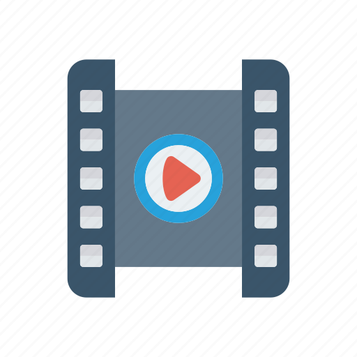 movie, player, playlist, video icon