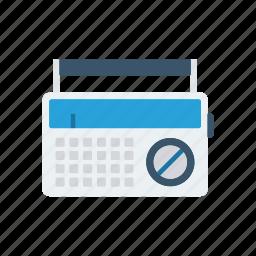 audio, radio, song, tape icon