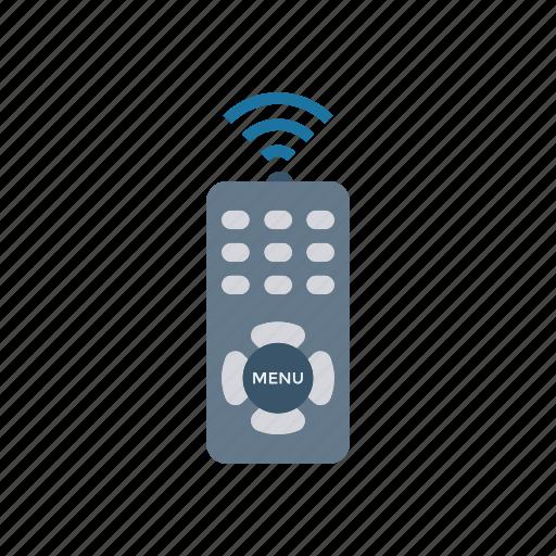 control, device, remote, wireless icon